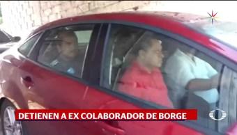 Noticias, Televisa News, Detienen, excolaborador, Roberto Borge, Quintana Roo