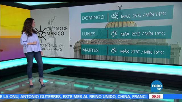 El clima, Claudia Torres, rachas de viento, 50 kilómetros