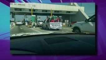 huachicoleros, Secretaría Seguridad Pública capitalina, Policías CDMX, frenan, protesta