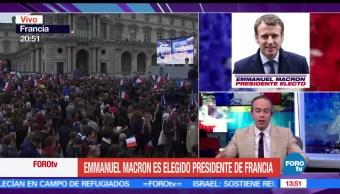 Relevancia, victoria de Macron, académico, José Juan López Portillo