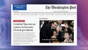 Principales diarios, triunfo de Macron, inmediato, diarios internacionales