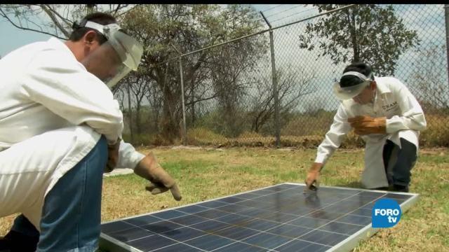 Tiempo, vida, útil, paneles solares, desgaste, radiación solar