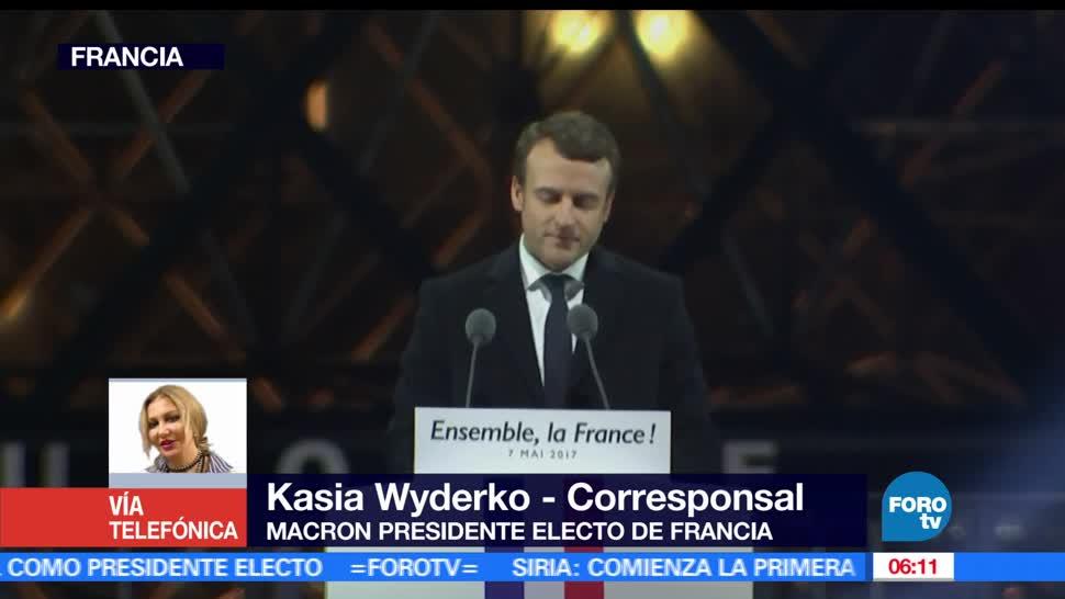 candidato socioliberal, Emmanuel Macron, segunda vuelta, elecciones presidenciales, Francia