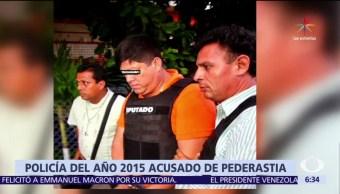 Alfonso Pérez, SSP Veracruz, delito de pederastia, abusó de un menor
