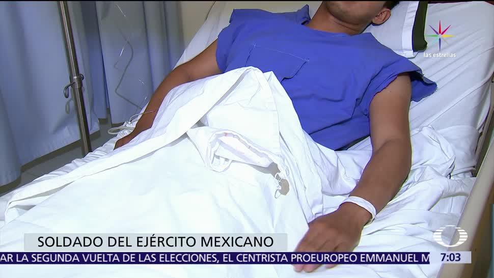 ataque contra militares, Palmarito, Puebla, Noticieros Televisa