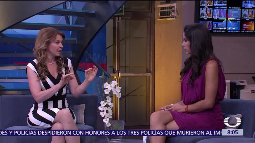 estudio, Al Aire, Diane Pérez, asma en México