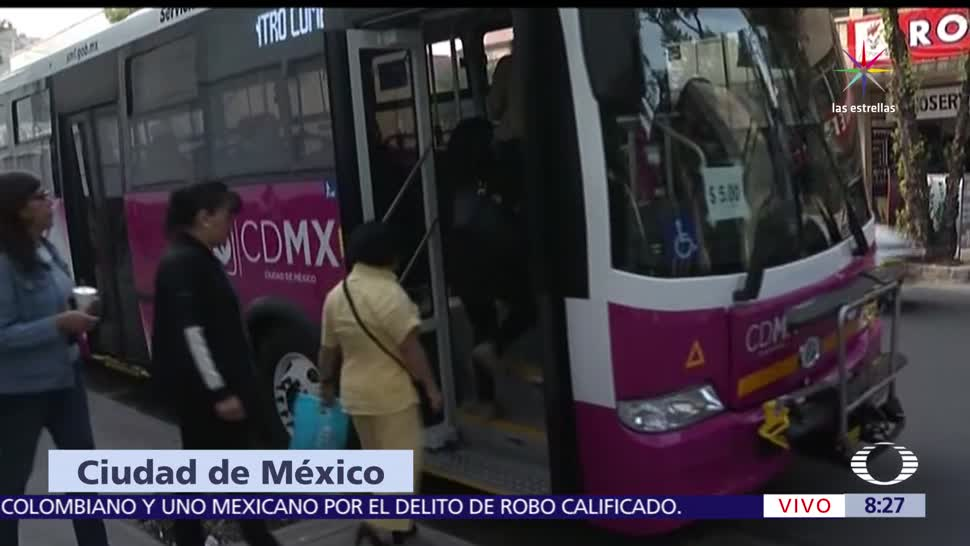 autobuses, mujeres, rutas, CDMX