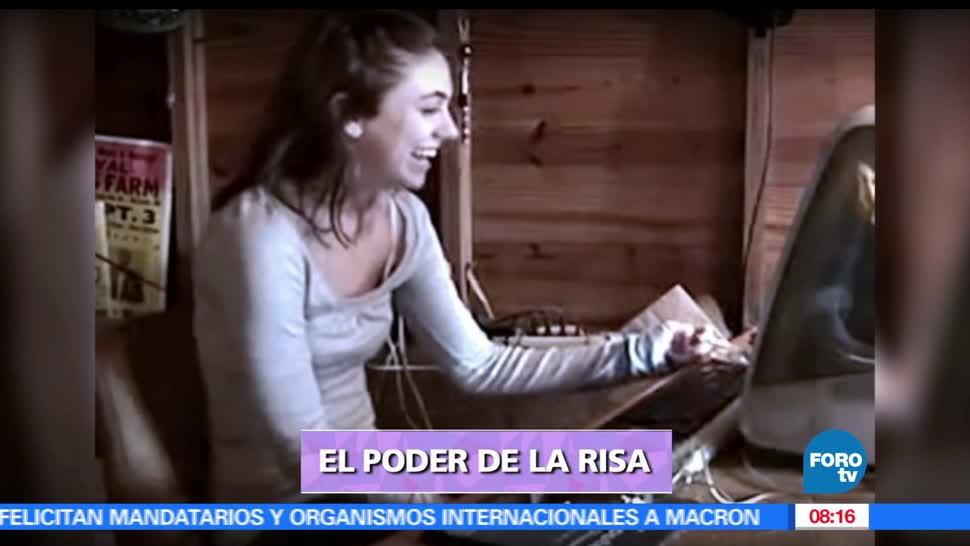 Marilú Esponda, reportaje, poder de la risa, risa