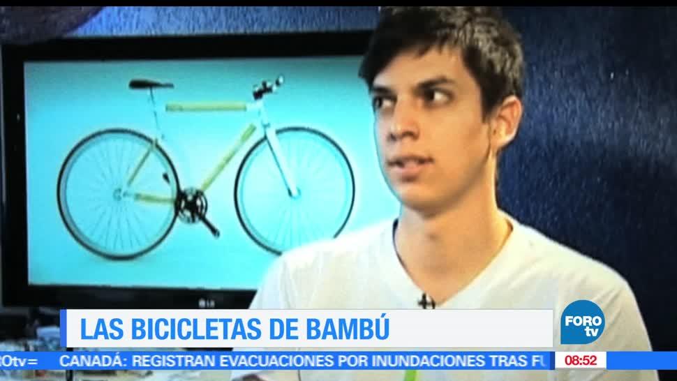 Ximena Cervantes, diseño mexicano, bicicletas elaboradas de bambú, bambú