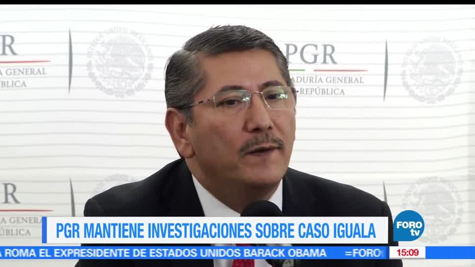 subprocuradora de Derechos Humanos, PGR, mantiene investigación, caso Iguala