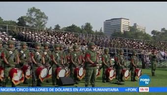 Encabeza, secretario de Gobernación, Miguel Ángel Osorio Chong, Fuerzas Armadas
