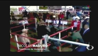 noticieros, Televisa news, La perla negra, Maduro, vacas, venezuela