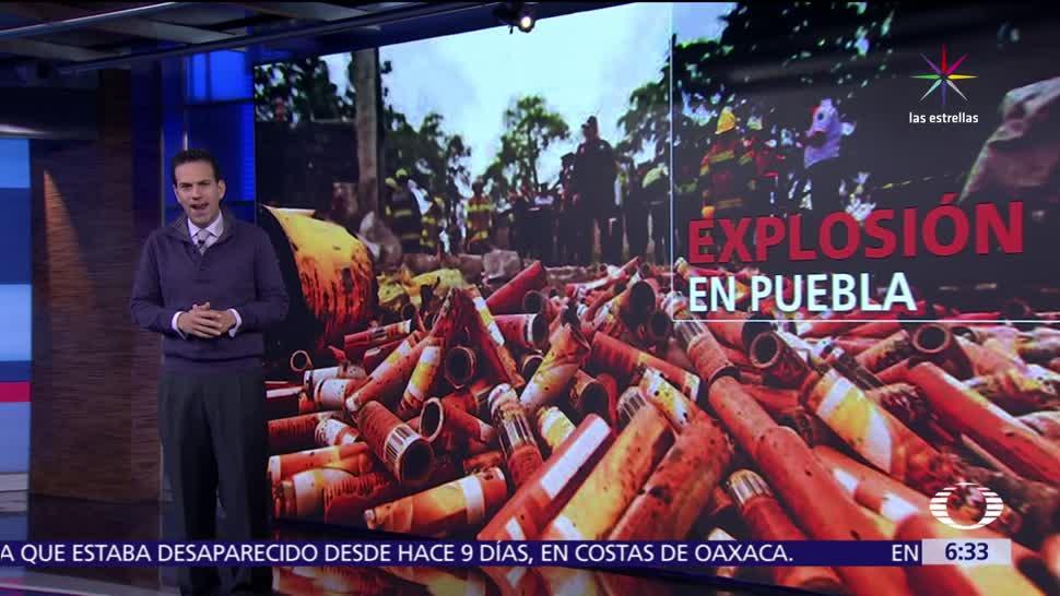 explosión de polvorín, polvorín en Chilchota, Chilchota, Puebla