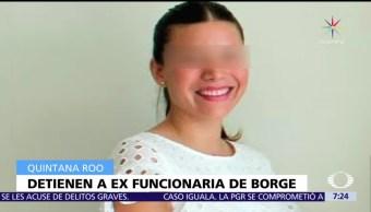 Paulina García, Vivienda, Borge, desempeño irregular