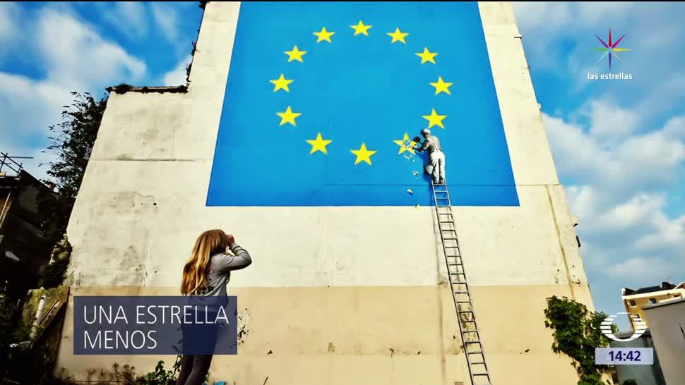 Bansky, Brexit, forjado, genialidad