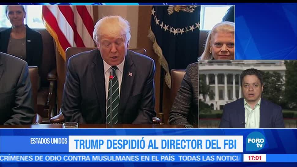 Despiden, director, FBI, Ariel Moutsatosos