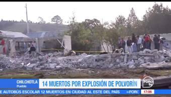 Once, menores, fallecieron, tras explosión