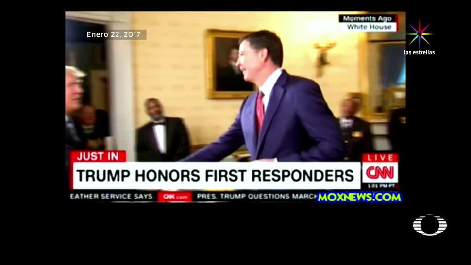 noticias, televisa news, Trump, despide, jefe, FBI
