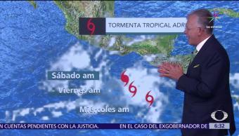 tormenta tropical, Oaxaca, Chiapas, sureste, clima