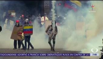 atropellada, manifestación, Calabozo, Caracas