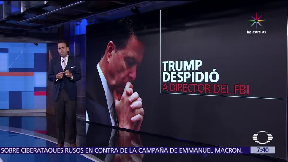 Trump, Comey, director del FBI, gobierno ruso