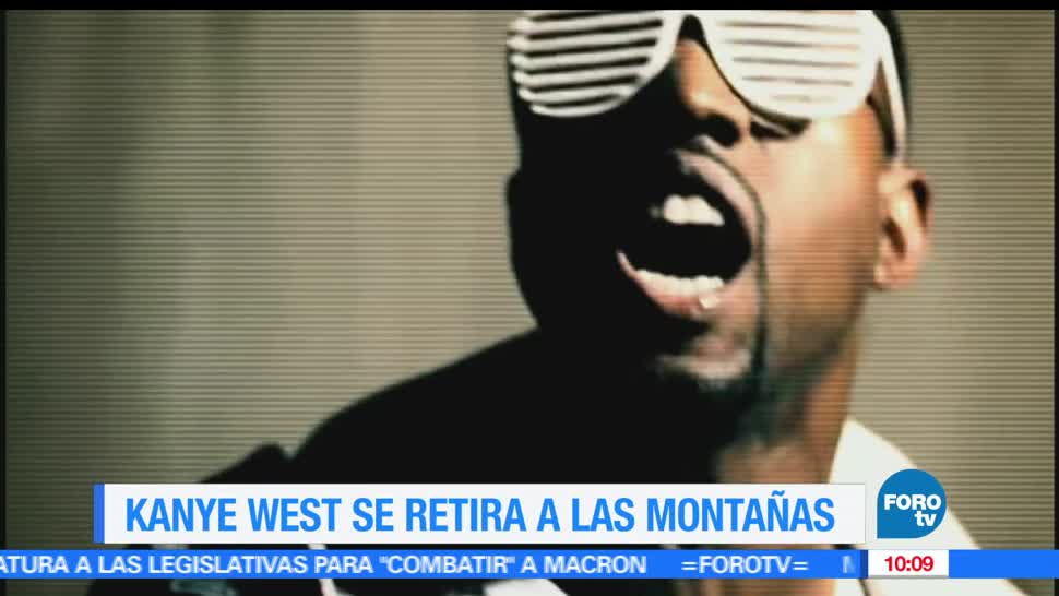 rapero, Kanye West, Hollywood, montañas de wyoming