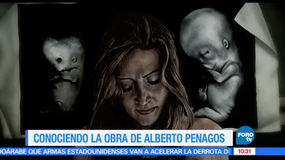 Sofía Escobosa, entrevista, artista, Alberto Penagos