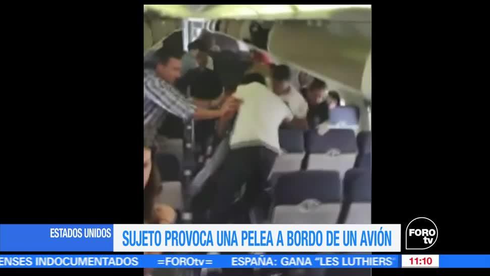pasajeros, a bordo de un avión, Estados Unidos, tripulación, redes sociales