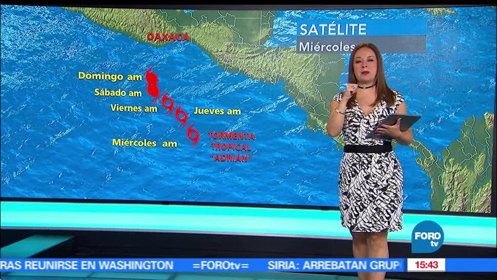 noticias, forotv, El clima, Raquel Mendez, clima, A las tres