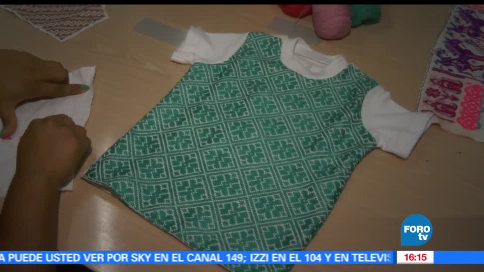 NOTICIAS, forotv, Agua de Chile, empresa, mexicana, bordados artesanales