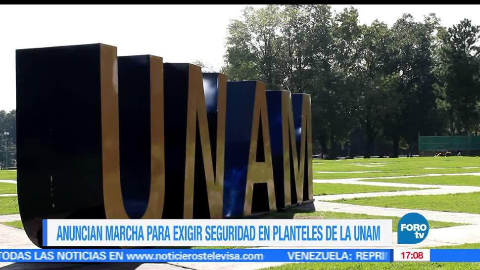 noticias, forotv, Convocan, alumnos, UNAM, marcha