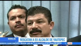 Rescatan, ex alcalde, secuestrado, Yautepec, Morelos, Humberto Segura