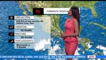 El Clima, condiciones climatológicas, Mayte Carranco, En Una Hora