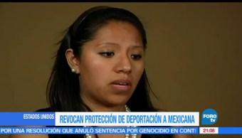 Revocan, protección, mexicana, protegida, DACA, Estados Unidos