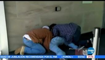 Video, muestra, arresto, dos indocumentados, mexicanos, Denver