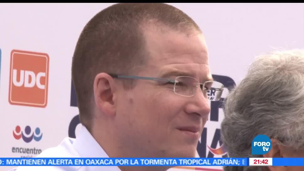 Ricardo Anaya, rechaza, incremento, inseguridad, gobierno, PAN