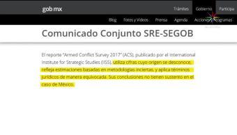Especialistas, desestiman, informe, sobre, homicidios, México