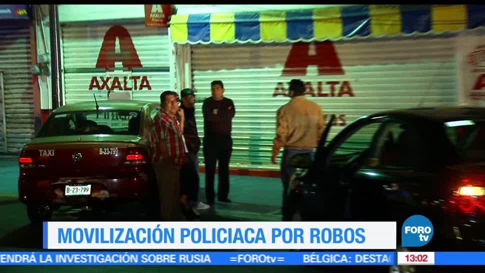 noticias, forotv, Bar, Iztacalco, asaltado, durante festejo
