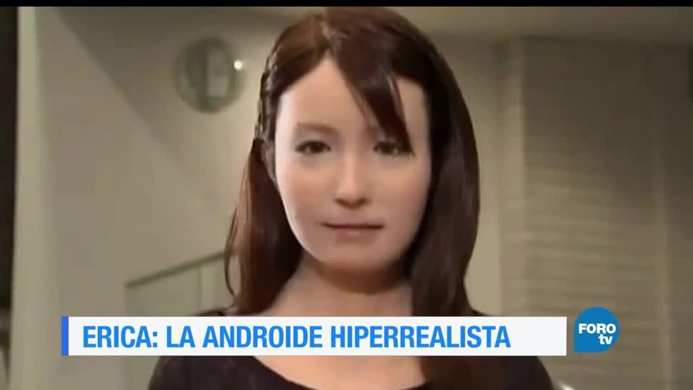 noticias, forotv, Erica, androide, japonesa, hiperrealista