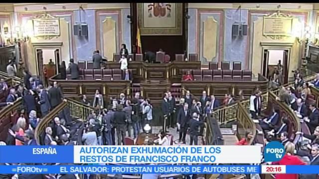 Exhumarán, restos, dictador, español, Francisco Franco, España