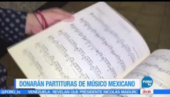 Donarán, partituras, Manuel M. Ponce, Conservatorio, Luxemburgo, Unión Europea