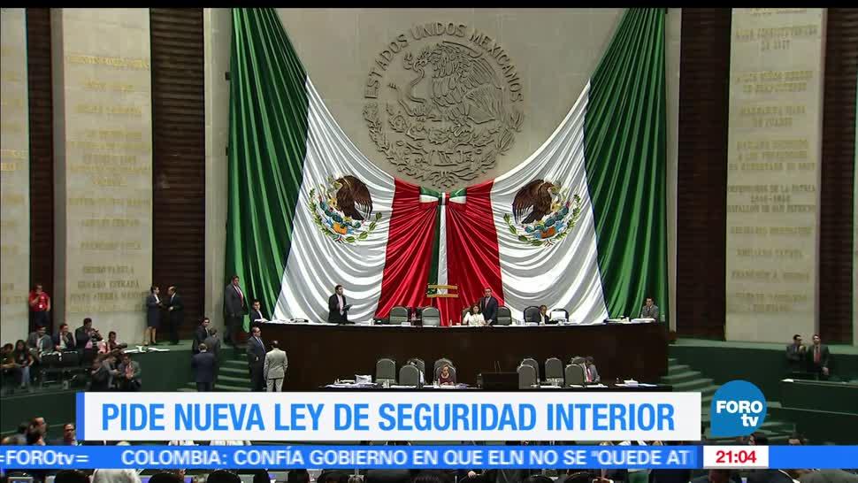 Senado, destaca, urgencia, nueva Ley de Seguridad Interior, Hechos, Palmarito