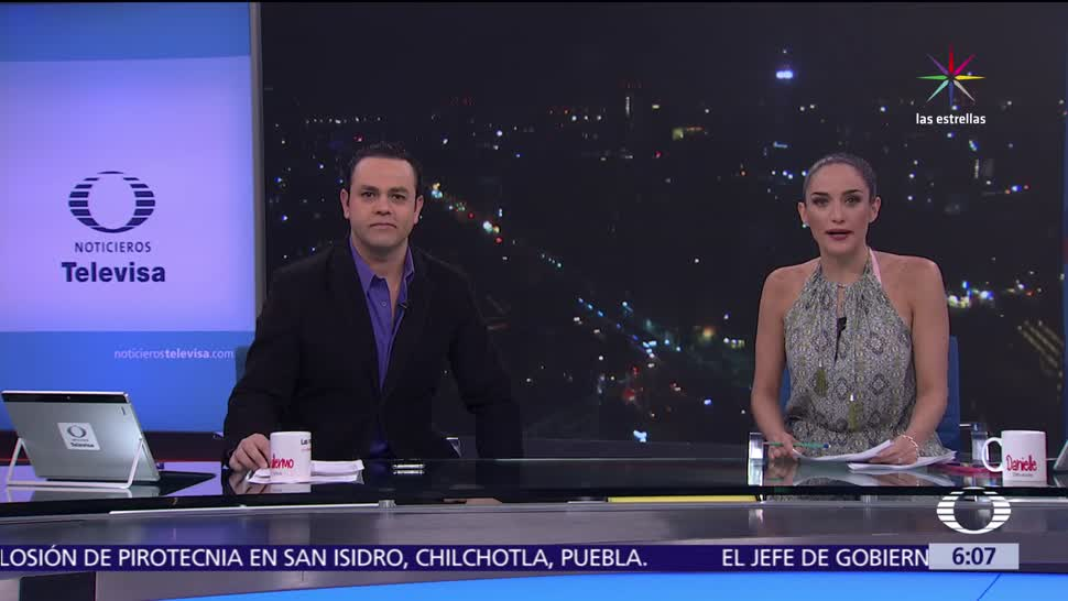 Danielle Dithurbide, Las noticias, Programa completo, informa