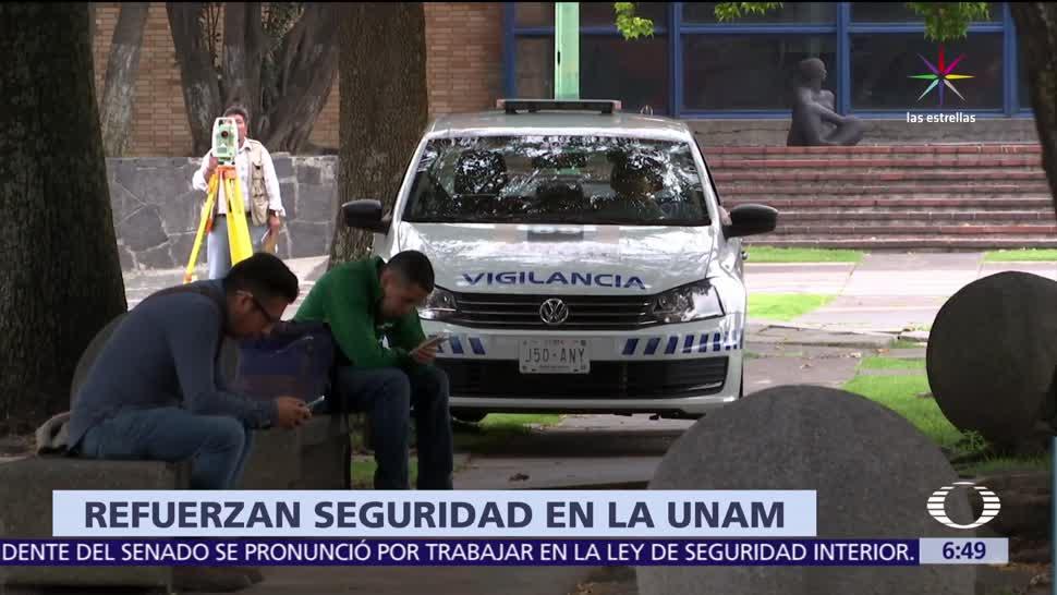 UNAM, 10 medidas, seguridad, instalaciones