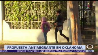 Legisladores republicanos, no hablen inglés, Oklahoma, estudiantes