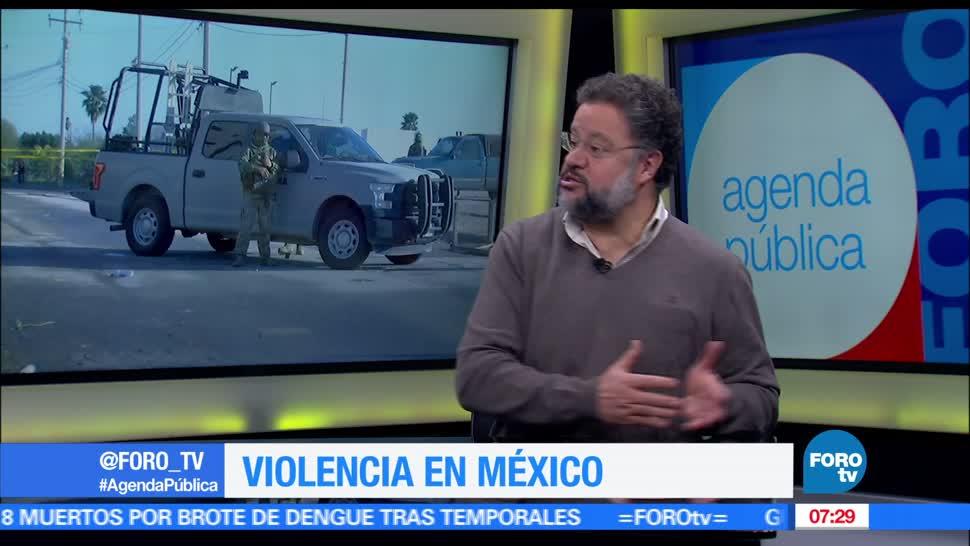 seguridad, violencia, México, Ernesto López Portillo