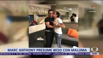 Marc Anthony, besa, Maluma, Auditorio Nacional