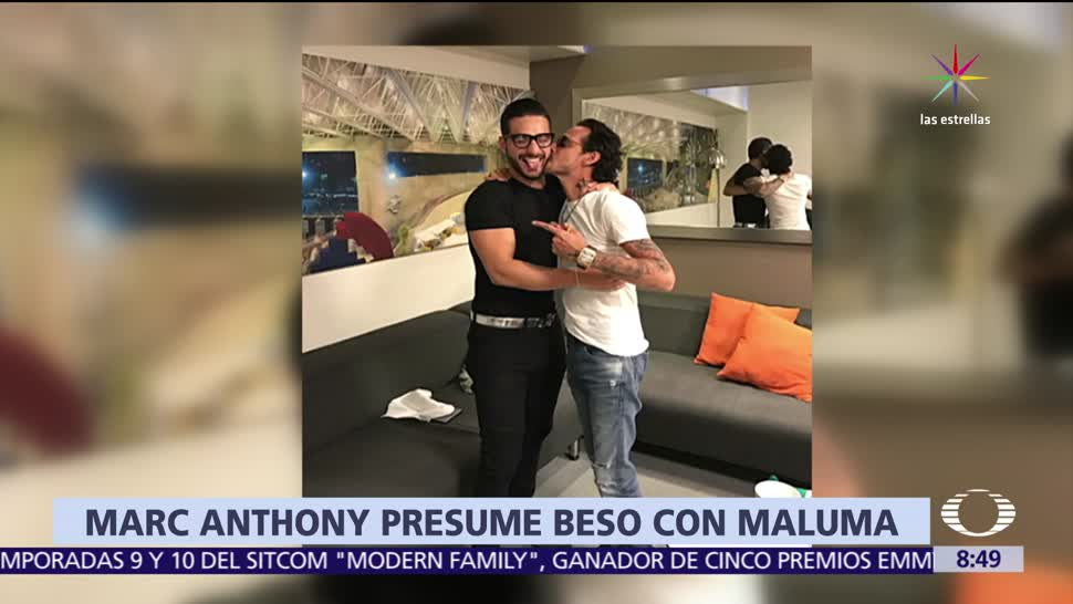 Marc Anthony, besa, Maluma, Auditorio Nacional