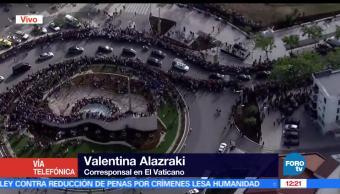 Valentina Alazraki, corresponsal en el Vaticano, Papa Francisco, Portugal