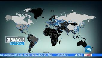 noticias, a las tres, Hackeo, masivo, afecta, de 74 paises